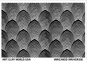 Flexistamps Texture Sheets Arched Inverse Design - 1 Pc.