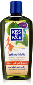 Kiss My Face Shower Gel and Body Wash, Active Athletic Birch/Eucalyptus, 470ml