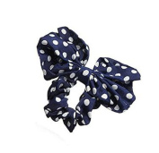 RuiChy Korean Style Lovely Bow Headband Ponytail Holder Hair Tie Band