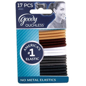 Goody Ouchless Hair Elastics, Thick, Natural by Goody Classics