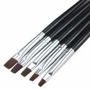 Andercala 5pcs Nail Art Pen Painting Drawing Nail Art Design Brush Set NA013