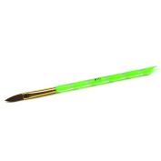 Sable Acrylic Brushes Acrylic Nail Tips Builder Tools For Nail Salon DIY Nail Art Pen Brushes