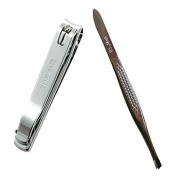 RIMEI Keychain and Nail Clipper Set With Stainless Steel
