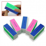 5pcs Yonger Nail Art Shiner Buffer 4 Ways Polish Sanding File Block Manicure Product
