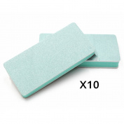 M-Aimee 10 pcs Nail Art Buffer Buffing Sanding Files Block Manicure Care DIY
