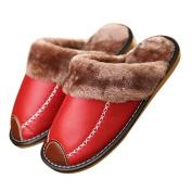 Sunward Fashion Women Indoor Slippers, Lovely Stripe Bowknot Super Soft & Lightweight Warm Home Floor Slippers Shoes (26cm: