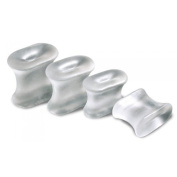 GelX All Gel Toe Spreader (x2) Small (4th/5th Toe) --- Protects, Realigns and Moisturises by PolyGel