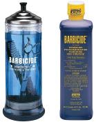 Barbicide Disinfectant Jar, Solution 473ml For Salon Spas Medical Athletic Tools CODE