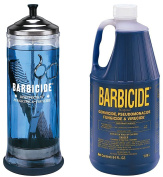 Barbicide Disinfectant Jar, Solution 1.89L For Salon Spas Medical Athletic Tools CODE