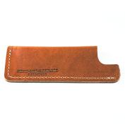 Small Tan Leather Comb Sheath by Chicago Comb