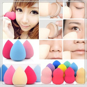 Latex Free! - Makeup Foundation Sponge Blender Blending Cosmetic Puff Flawless Powder Smooth Beauty Make Up Tool - Latex Free!