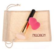 Meloision Makeup Puff Sponge Set Makeup Blender Foundation Puff Sponges with Makeup Brush