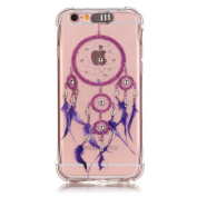 UCLL Iphone 6s Case, Iphone 6 Cover, Dream-catcher Details Shock-proof Case for Iphone 6/6s with a Screen Protector