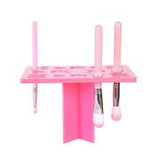 EMOCCI Acrylic Brush Holder Tree Rack Holder Air Drying Cosmetic Brushes