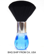 Neck Duster Brush for Salon Stylist Barber Hair Cutting Make Up, Cosmetic Body - Blue