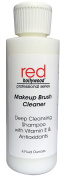 Red Hollywood Makeup Brush Sponge Cleaning Shampoo, 120ml