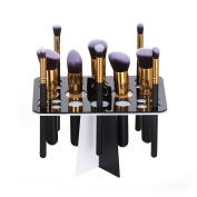 Face Forever Collapsible Air Drying Makeup Brushes Holder Organising Makeup Brush Tower Tree Rack Cosmetic Tool Holder