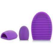 Creazy® Cleaning Glove MakeUp Washing Brush Scrubber Board Cosmetic Clean