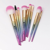 BEAUTY BEAT FACES By DOCOLOR Makeup Brushes Fantasy Set