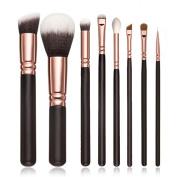 8pcs Cosmetic Brush, Misaky Makeup Blusher Eye Shadow Brushes Set Kit urve Cosmetic Makeup Brushes Tool