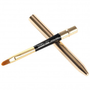 Lip Brush - MAANGE Portable Lip Brush gold