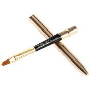 Lip Brush - MAANGE Portable Lip Brush gold