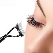 FTXJ Eyelash Curler Mascara Guide Applicator Eye lashes Comb Makeup Tools