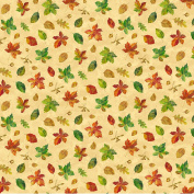 Harvest Blessings Leaves by Deborah Edwards from Northcott 100% Cotton Quilt Fabric 21164 12