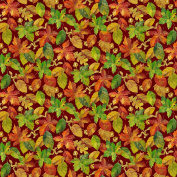 Harvest Blessings Leaves by Deborah Edwards from Northcott 100% Cotton Quilt Fabric 21163 25
