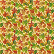 Harvest Blessings Leaves by Deborah Edwards from Northcott 100% Cotton Quilt Fabric 21163 12