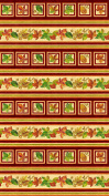 Harvest Blessings Stripe by Deborah Edwards from Northcott 100% Cotton Quilt Fabric 21162 12