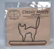 Classic Motifs 15cm Black Cat Decorative Craft Holder