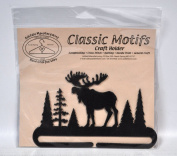 Classic Motifs 15cm Alaska Moose Craft Holder