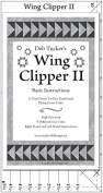 Wing Clipper II - Quilting Tool for Trimming Down Flying Geese Units