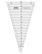 30° Triangle Shape Quilt Designing and Crafting Quilting Ruler Template 24cm