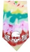 Mirage Pet Products Skull Wings Screen Print Bandana Tie Dye