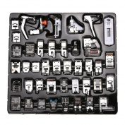 TOPCHANCES Multi -function Sewing Accessories 42 PCS Domestic Sewing Machine Foot Presser Feet Set