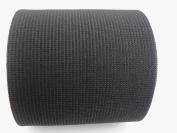 10cm Wide Black Heavy Knit Stretch ELASTIC 15 Yards by Prolastic