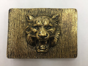 Designer Tiger Belt Buckle for Women Antique Gold 2.5cm - 2.2cm Inch Buc10