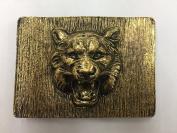 Designer Tiger Belt Buckle for Women Antique Gold 2.5cm - 2.2cm Inch Buc10