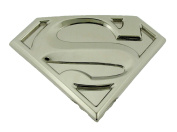 Superman Unisex Silver Plated Belt Buckle Comics Original Officially Licenced