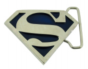 Superman Kids Boys Blue Belt Buckle Comics Original Small Size