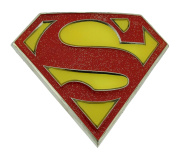 Superman Belt Buckle Comics Superhero Return Red Yellow Glitter New Figure Logo