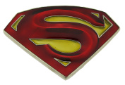 Superman Belt Buckle Comics Superhero Return Red Yellow Original Licenced