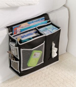 Richards Homewares 6 Pocket Bedside Storage Mattress Book Remote Caddy