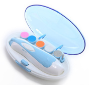 Baby Nail File-Safe Baby Nail Clippers for Newborn or Toddler Toes and Fingernails Electric