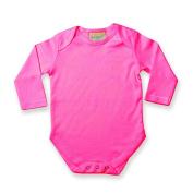 Larkwood Baby Unisex Long Sleeve Baby Bodysuit (0-3)