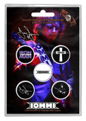Tony Iommi Badge Pack