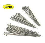 Z-colour 90 Pieces 79mm 86mm 91mm Felting Needles DIY Wool PIN Felting Tools Kits Medium--Each Sizes OF 30PCS