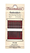 Piecemaker Embroidery Fine Sewing Needles Size 7